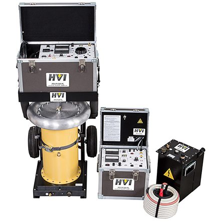 ALT-120/60 AC Hipot: 0 - 60/120 kVac PTS-100U DC Hipot: 0 - 100 kVdc