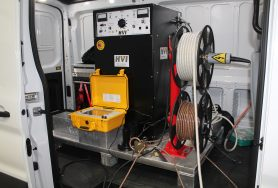 Custom Designed Van Package for Cable Testing & Fault Locating